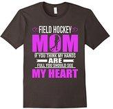 Field Hockey Moms Full Heart Mothers Day T-Shirt