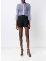 Nina Ricci sheer shirt