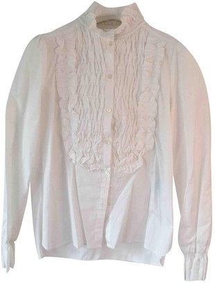 See by Chloe White Cotton Top for Women