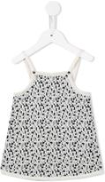 Pèqueno Tocon - pixel knit dress - kids - Cotton/Wool - New born