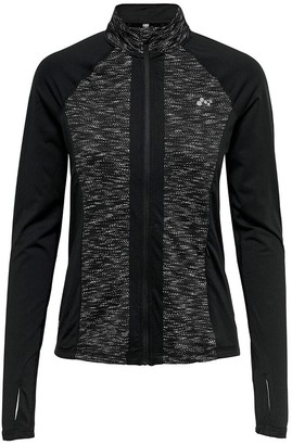 Only Play Sport Jacket with High Collar and Breathable Fabric