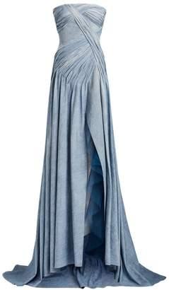 Ralph Lauren Andel Strapless Gown