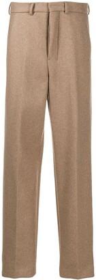AMI Paris Wide-Leg Tailored Trousers