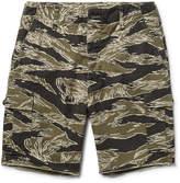 Wacko Maria - Camouflage-print Cotton-ripstop Cargo Shorts