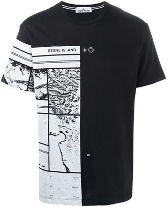 Stone Island graphic print short-sleeved T-shirt