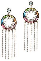 Dannijo Zahra Rainbow Fringe Earrings