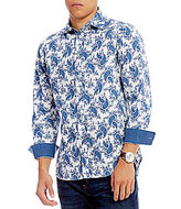 Daniel Cremieux Jeans Big & Tall Paisley Long-Sleeve Woven Shirt