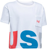 Under Armour Cropped Graphic-Print T-Shirt, Big Girls (7-16)