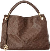 Louis Vuitton Brown Monogram Empriente Leather Artsy Mm