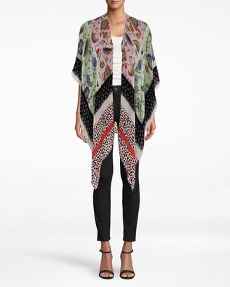 Nicole Miller Summer Silk Blend Kimono