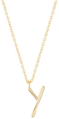 Wonther Initial Y Necklace