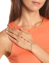 Charlotte Russe Linked Triangle Hand Chain