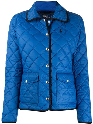 Polo Ralph Lauren Quilted Spread-Collar Jacket