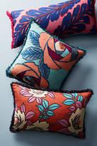 Anthropologie Sunworth Silk Pillow