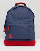 Mi-Pac Classic Deep Navy and Red Backpack