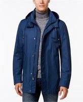 Lauren Ralph Lauren Yorkshire New Blue Hooded Rain Coat
