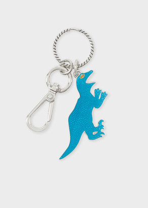 Paul Smith Turquoise 'Dino' Keyring