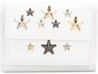 Jimmy Choo star-studded tri-fold wallet
