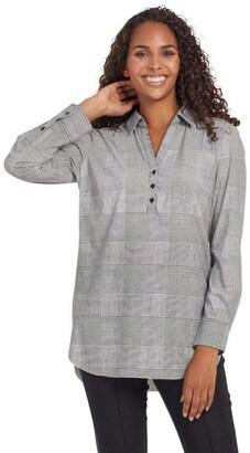 Tribal Women's Long Sleeve Wrinkle Resistant Tunic