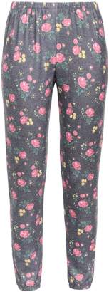 Wildfox Couture Floral-print Fleece Track Pants