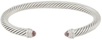 David Yurman 5mm Cable Bracelet (Morganite)