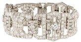 Bracelet French Art Deco Diamond Link Bracelet