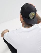 Volcom X Tetsunori Snapback Cap With Skull Logo