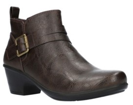 Easy Street Shoes Hester Booties Women's Shoes