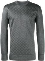 Helmut Lang quilted sweatshirt