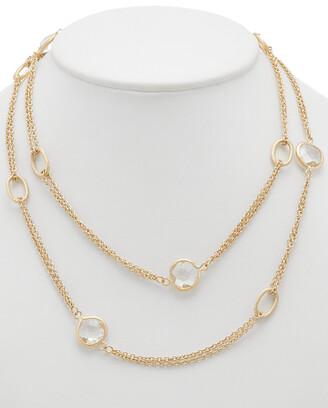 Rivka Friedman 18K Clad 38In Necklace