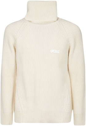 GCDS Logo Embroidered High-neck Pullover