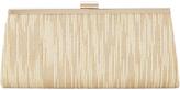 Adrianna Papell Metallic Frame Clutch Bag, Gold