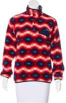Patagonia Fleece Printed Sweatshirt