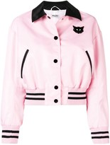 Miu Miu Cat bomber jacket