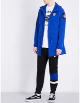 Billionaire Boys Club Fishtail-hem Shell Parka Jacket