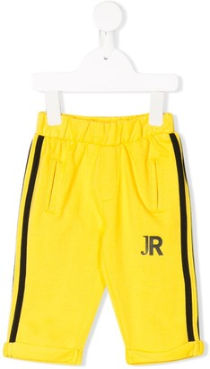 John Richmond Junior Printed Logo Track Pants