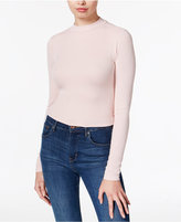 GUESS Maja Mock-Neck Crop Top