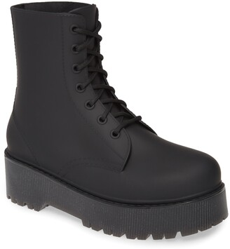 Jeffrey Campbell Torrent-2 Waterproof Platform Rain Boot