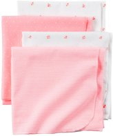 Carter's Swaddle Blankets - Pink - One Size