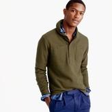 J.Crew Wallace & Barnes fleece shawl henley pullover