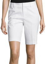 Liz Claiborne Double Cotton Bermuda Shorts