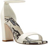Nine West Ola Women's Leather Block Heel Sandals