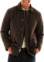 Excelled Leather R&O Quilted Car Coat