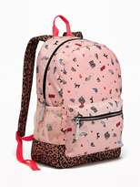 Old Navy Patterned Backpack for Girls