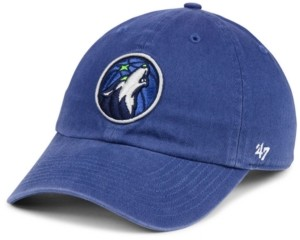 '47 Minnesota Timberwolves Clean Up Strapback Cap