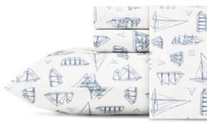 Nautica Whitewood Sail Queen Sheet Set Bedding