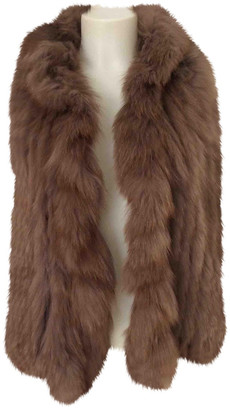 Rare Brown Fox Coats