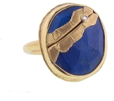 Jamie Joseph Oval Lapis Joinery Ring