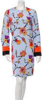 Emilio Pucci Printed Open Back Dress