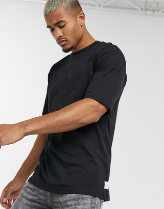 ONLY & SONS boxy t-shirt in black